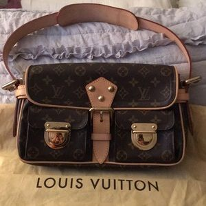 LV Double-Pocket Shoulder Bag